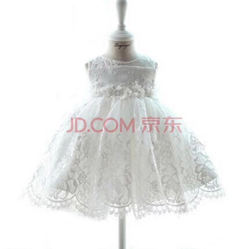 儿童婚纱礼服裙蓬蓬裙夏童装宝宝公主裙