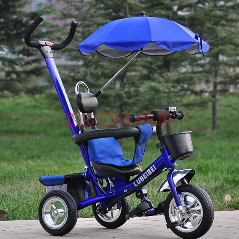 新款儿童三轮车脚踏车婴儿宝宝手推儿童车升级版
