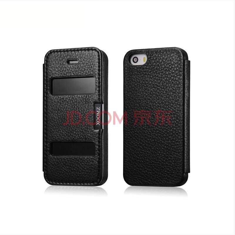 xoomz酒店手机套保护套苹果适用于iphone5s/水壶5s/iphone5a酒店黑外壳陶瓷真皮图片