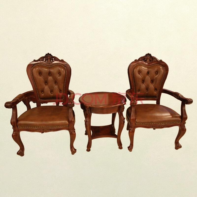 【琪梦(qimeng)】集美红木家具欧式红木圈椅三件套围图片