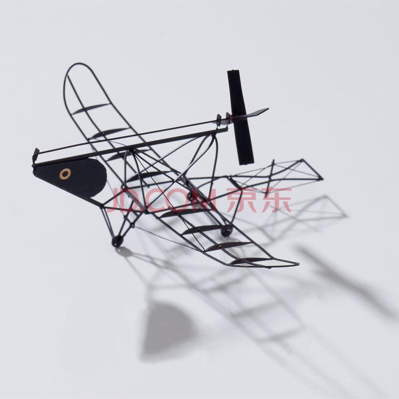 日本aerobase飞机模型拼装组装益智玩具摆件迷你黄铜制b008b012 黑色