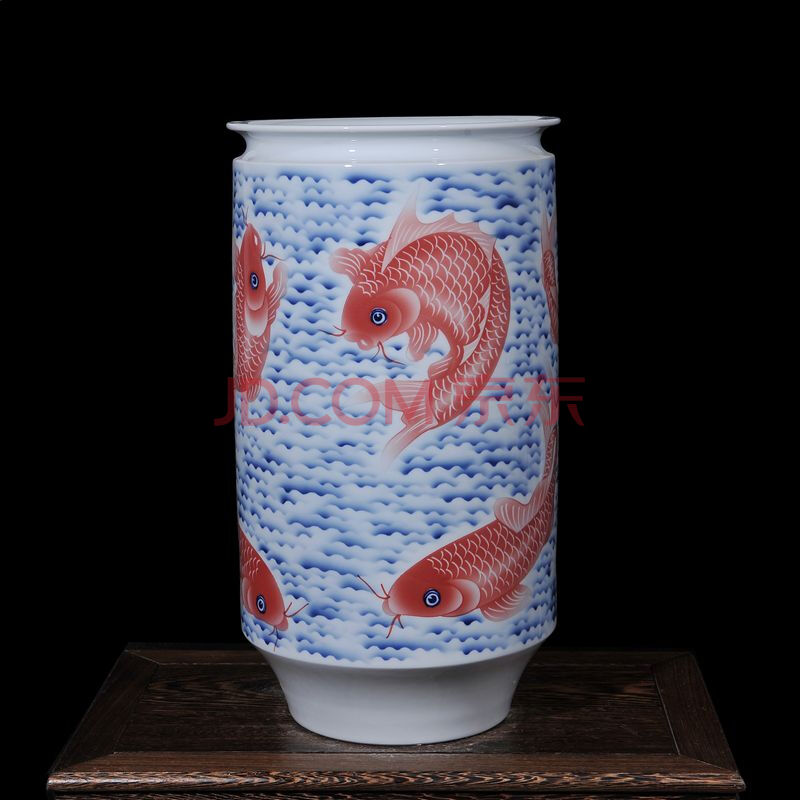 大师手绘花瓶
