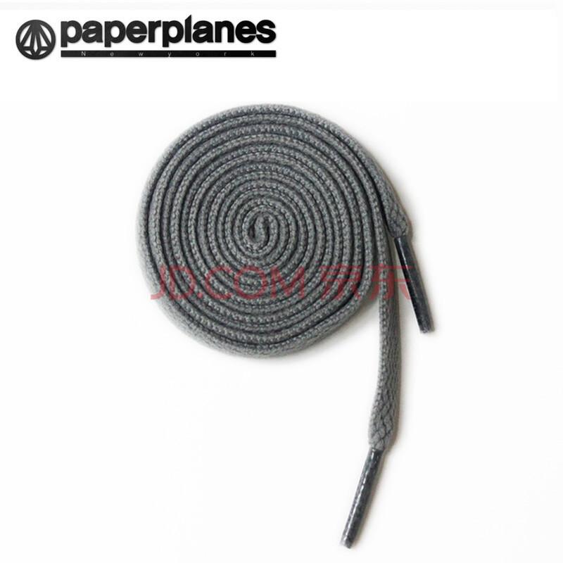 韩国进口纸飞机paperplanes运动鞋鞋带男女扁 黑色 白色 红色 深灰色