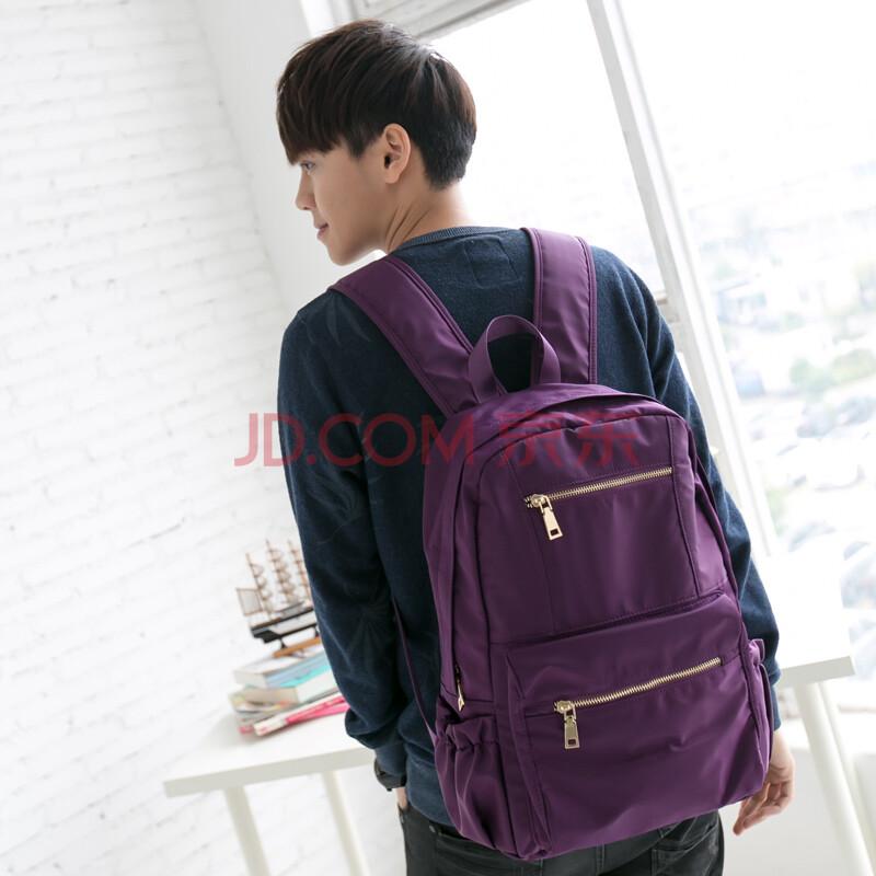 吉野2015新款韩版双肩包男女背包尼龙包防水包高中大学生书包男包包
