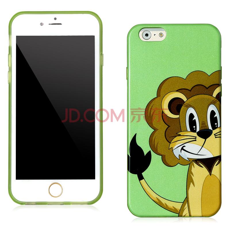 7 苹果6手机套 经典卡通动物保护套新款 狮子杰夫