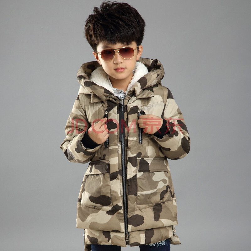 男童棉衣秋冬季童装2014韩版冬装新款儿童加厚棉袄中大男童棉衣外套