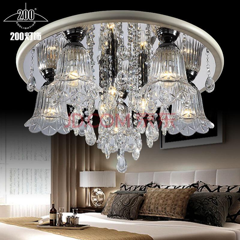 客厅水晶灯现代