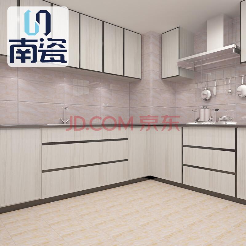 南瓷 卫生间瓷砖 厨房墙砖 厨卫砖 芙蓉玉 腰线600*70图片