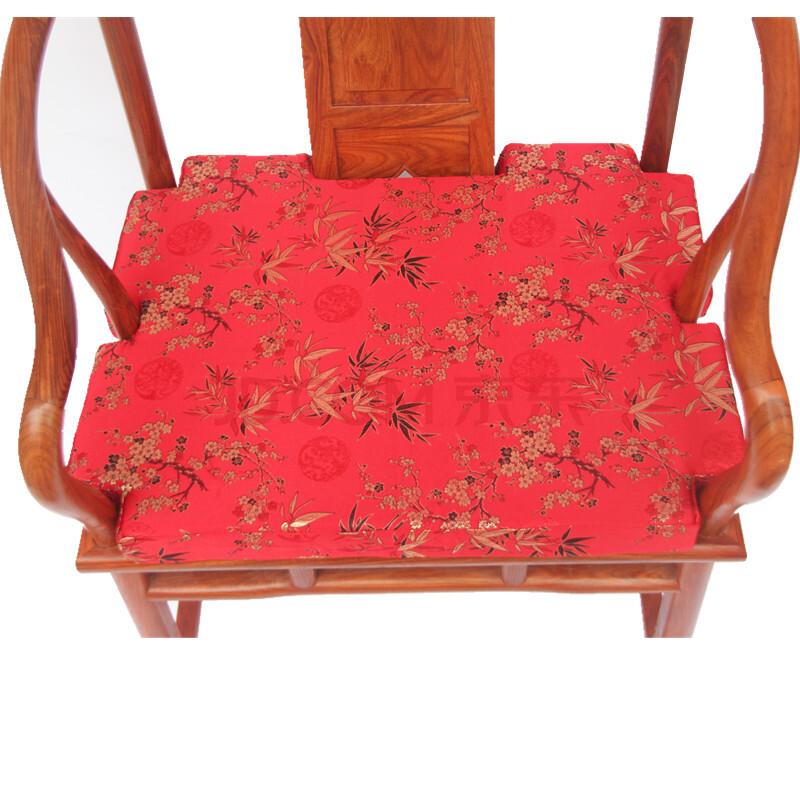 千功坊 红木沙发坐垫沙发垫 圈椅垫 官帽椅 太师椅 茶