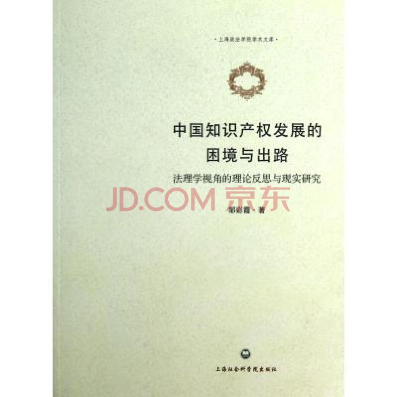 中国知识产权发展的困境与出路(法理学视角的理论反思与现实研究)