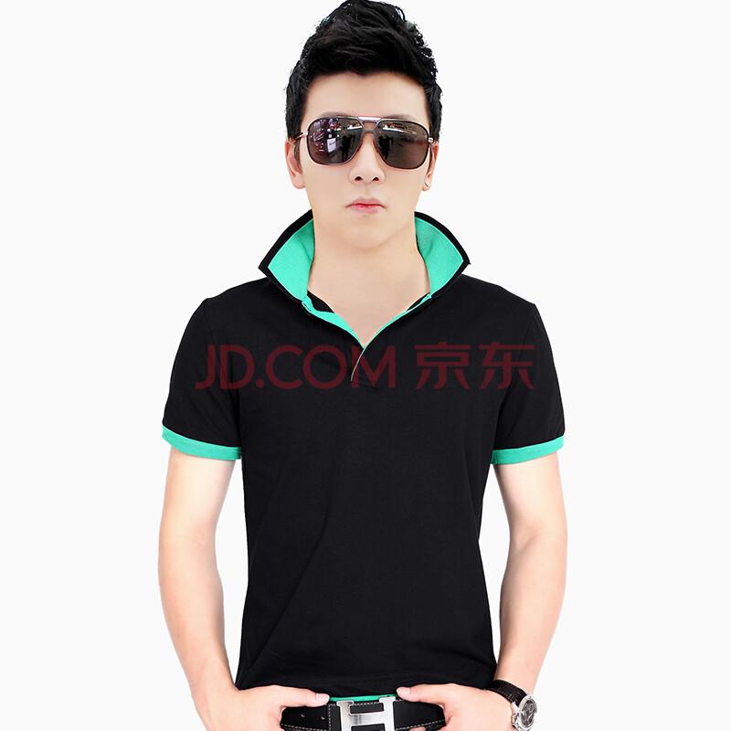 艾森马格以 2015夏季新款男短袖t恤韩版修身休闲学生青少年潮纯棉潮图片