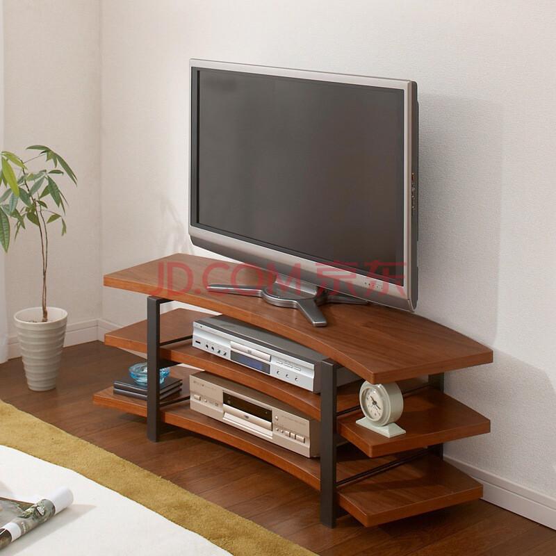 家逸 钢木结构电视柜现代简约可伸缩地柜