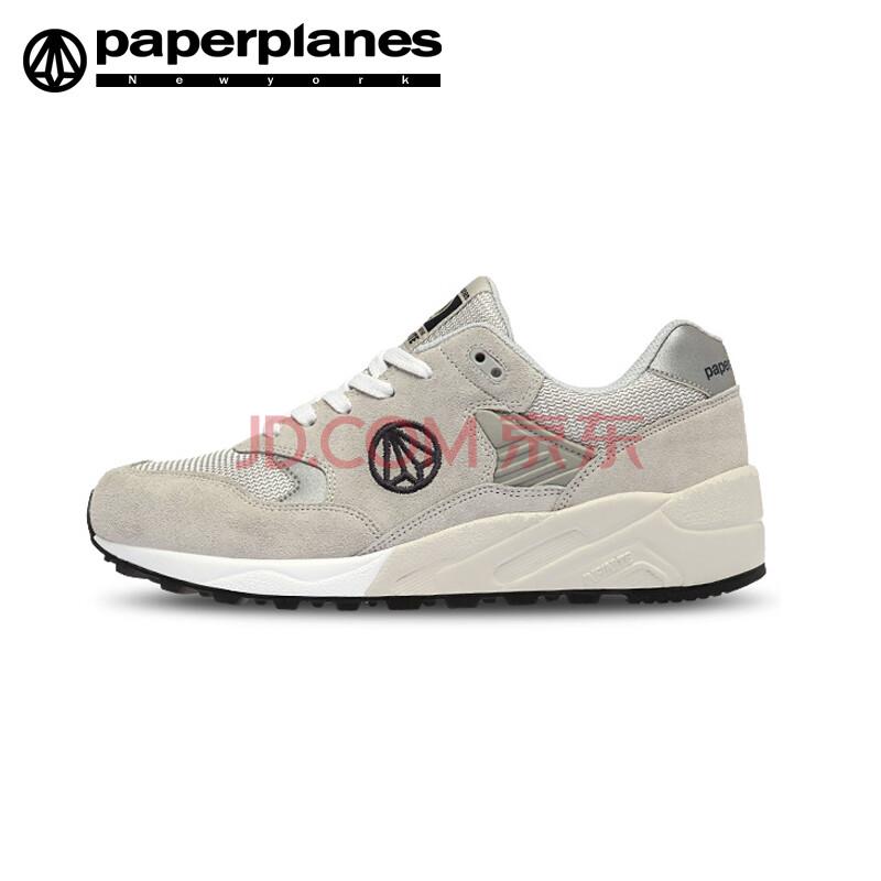 paperplanes韩国原装进口纸飞机情侣户外休闲运动鞋男女夏季新款网面