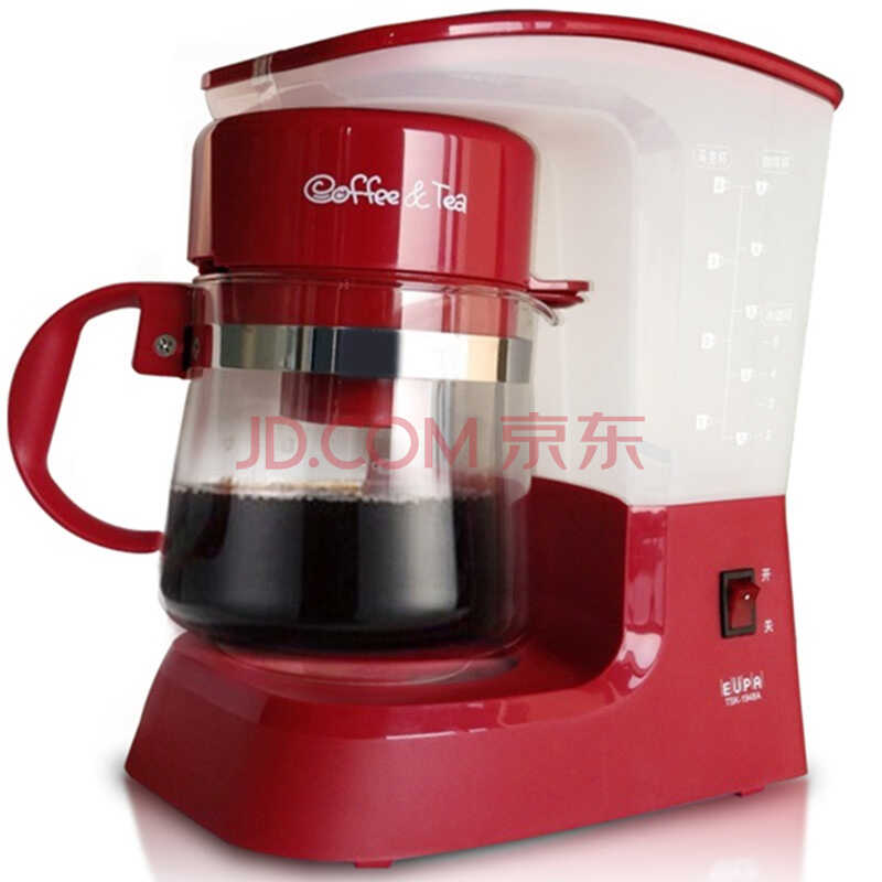 灿坤(eupa)TSK-1948A,多功能茗茶咖啡机  (红色))