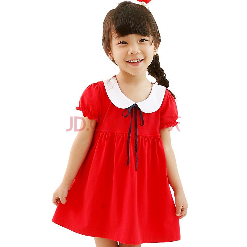伊尚贝丽女童连衣裙夏装儿童裙子韩版大童装公主裙