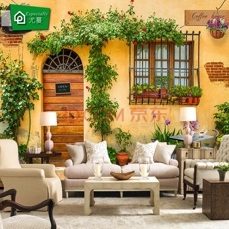 背景墙 餐厅壁画装饰画 咖啡馆 饭厅 欧式油画 3d壁纸墙纸 欧美田园图片