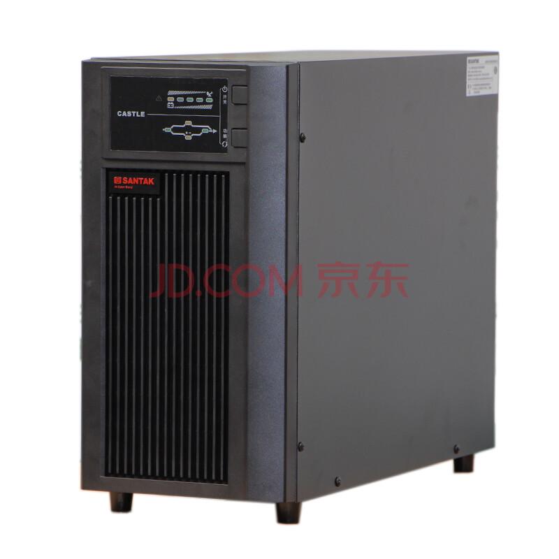山特ups不间断电源 山特C6K 6KVA /5400W 液晶显示屏 在线式UPS电源