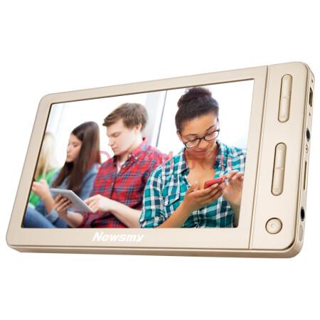 纽曼(Newsmy) A53HD 5英寸视频播放器MP4 MP5 8G 支持TV输出+FM+录音+游戏 高清触摸屏MP3 音乐外放播放器