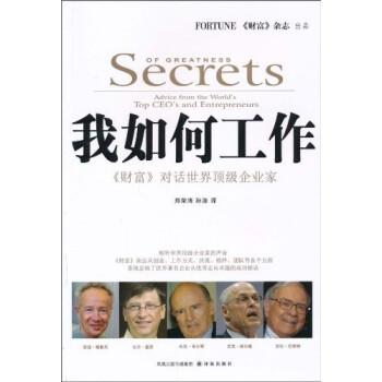 我如何工作:《财富》对话世界顶级企业家 PDF版