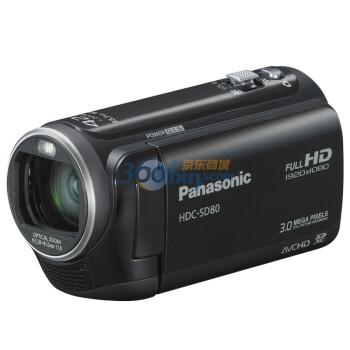 松下(Panasonic) HDC-SD80GK数码摄相机 黑色