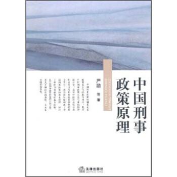 中国刑事政策原理 PDF电子版