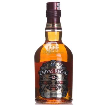 正品CHIVAS芝华士12年威士忌700ml+君主伏特加500ml, 131元包邮