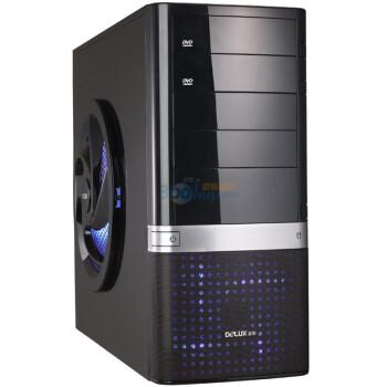 多彩(DeLUX)电脑机箱 真金MG858-炫影蓝光