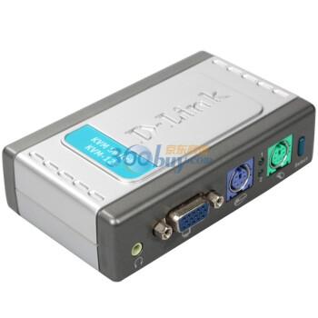 友讯(D-Link)DKVM-121 2端口PS/2接口带音频功能桌面型KVM切换器