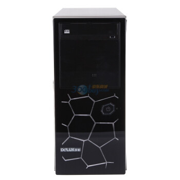 多彩(DeLUX)电脑机箱 倾城MF493-美立方(不含电源)