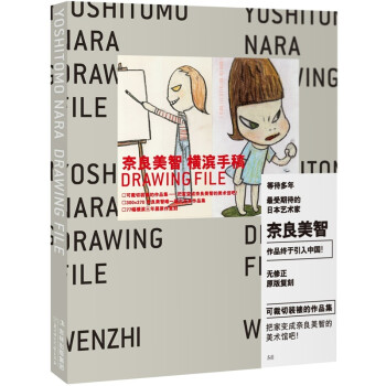 正版《奈良美智•横滨手稿Drawing File》,101元包邮