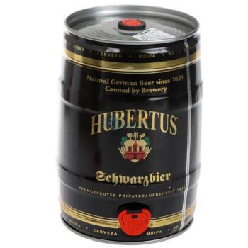 HUBERTUS 狩猎神 黑啤 5L桶装*3