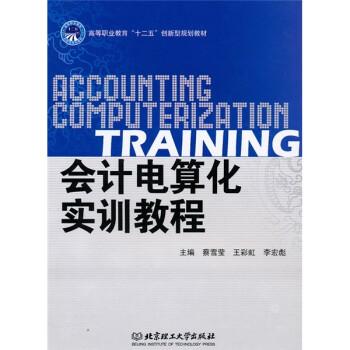 会计电算化实训教程图片