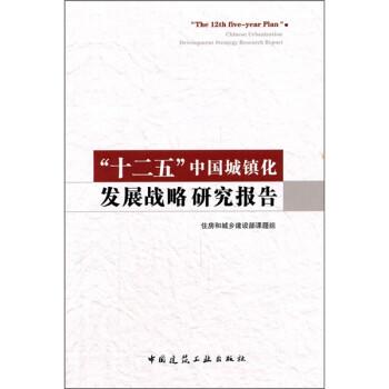 """""""十二五""""中国城镇化发展战略研究报告 电子书下载"""