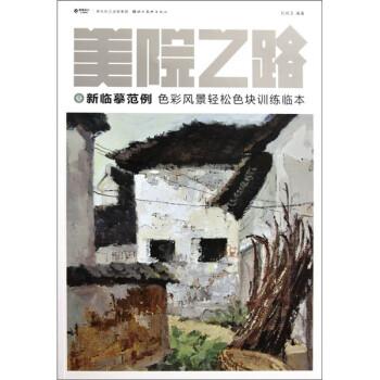 美院之路·新临摹范例:色彩风景轻松色块训练临本 PDF版下载