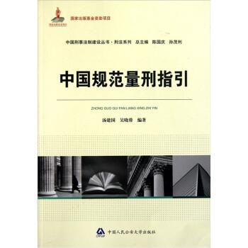 中国刑事法制建设丛书·刑法系列:中国规范量刑指引 在线阅读
