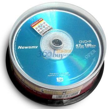 纽曼(Newsmy)DVD+R 16速 4.7G 个人视频系列 桶装25片 刻录盘