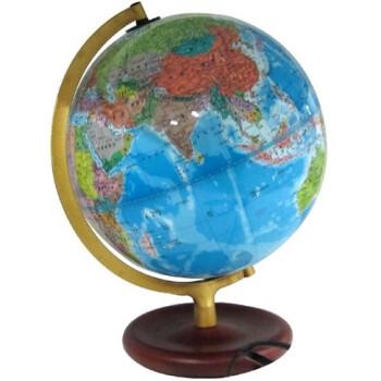 博目地球仪:25厘米政区灯光地球仪·木座合金架 在线阅读