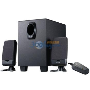 多彩(DELUX) DLS-2100  2.1多媒体音箱 黑色
