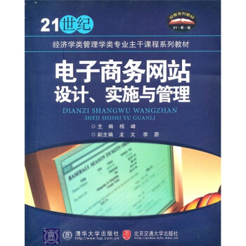 21世纪经济学类管理学类专业主干课程系列教材:电子商务网站设计、实施与管理 电子书
