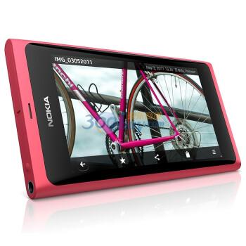 诺基亚(NOKIA)N9 3G手机(粉红色)WCDMA/GSM 非定制