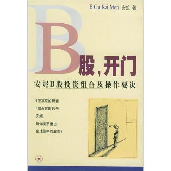 B股,开门:安妮B股投资组合及操作要诀 PDF电子版
