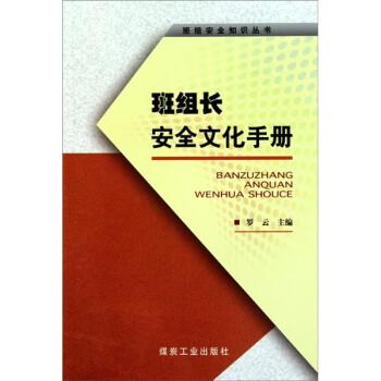 班组安全知识丛书:班组长安全文化手册 版