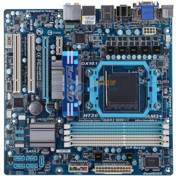 技嘉(GIGABYTE)GA-880GM-USB3 rev.3.1主板(AMD 880G/Socke