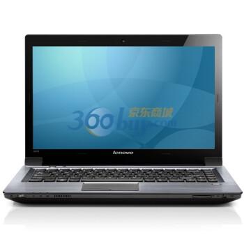 联想(Lenovo)扬天V470G-ISE 14英寸笔记本电脑 (i7-2630 4G 750G