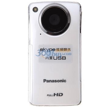 Panasonic 松下 HM-TA1GK 迷你摄像机(1080p,93克)