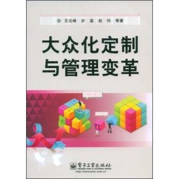 大众化定制与管理变革 PDF版下载