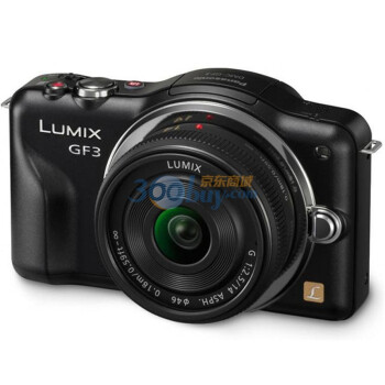 行货破两千了!Panasonic 松下 Lumix DMC-GF3 微单套机(黑色、14mm饼干头)