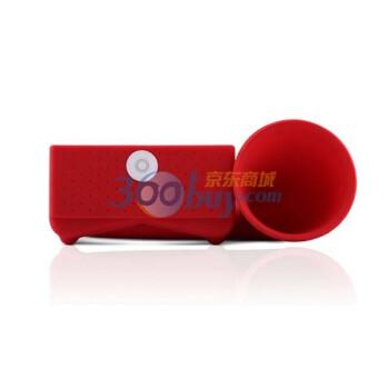 Bone Horn stand 号角扬声器 不需插电 适用于touch4 大红色