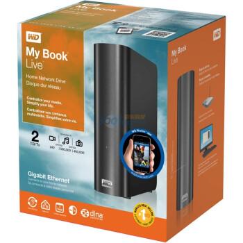WD 西部数据 My Book Live 3.5英寸家庭网络硬盘 2TB
