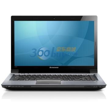 联想(Lenovo)扬天V470A-ITH(H) 14英寸笔记本电脑 (i3-2330 4G 750